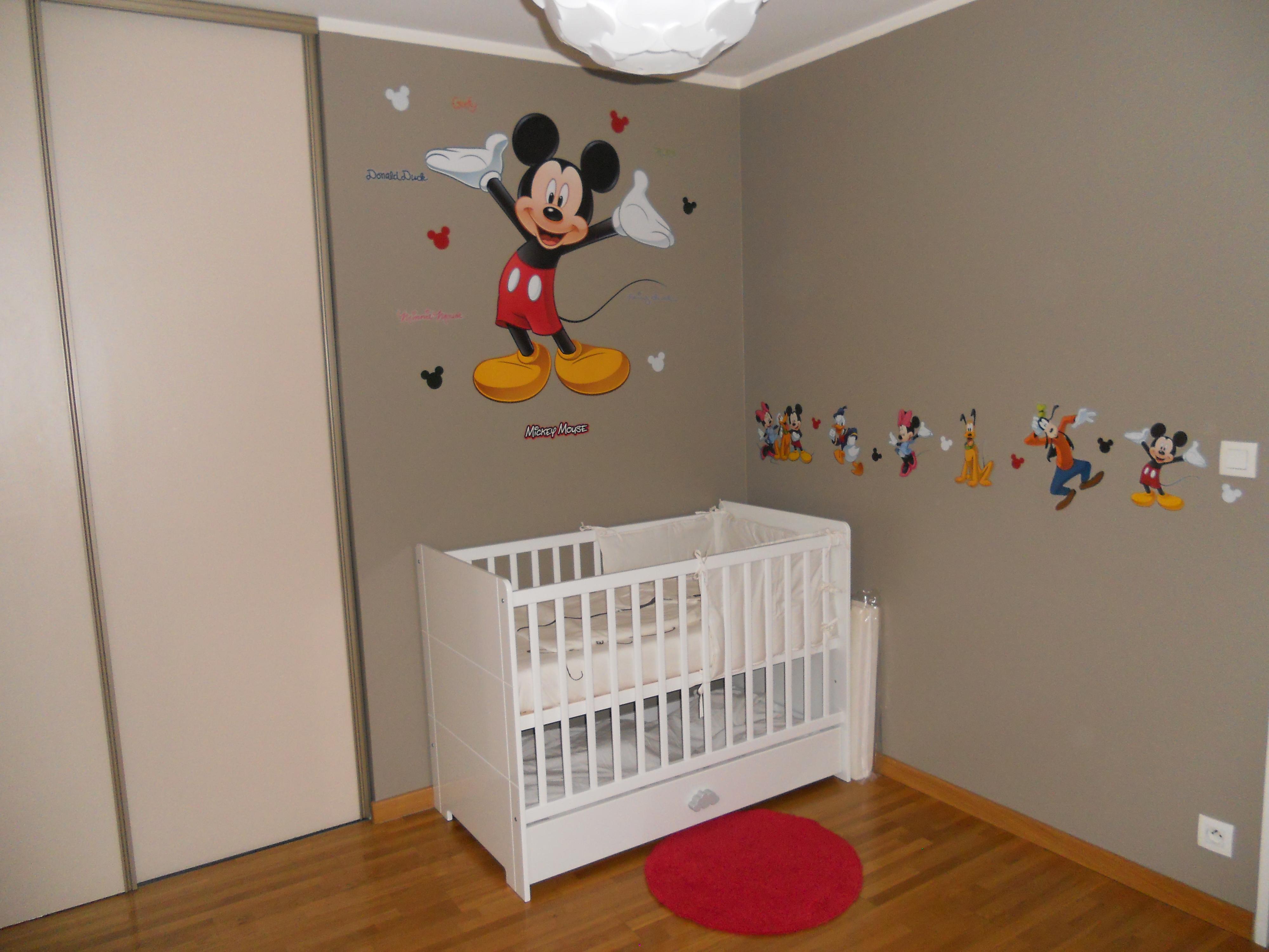 Chambre thème MICKEY :) - Chambre de bébé - FORUM Grossesse & bébé