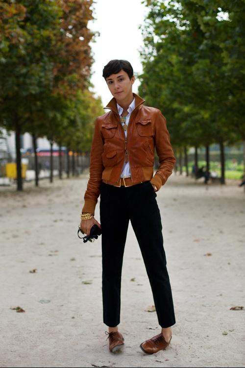 boyish camel jacket