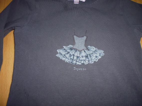 zoom tee-shirt Repetto