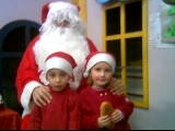 A Noel avec sa cousine