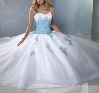 robe bleu et blanche (2)