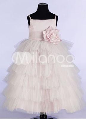 Pink-Spaghetti-Flower-Satin-Organza-Flower-Girl-Dress-14872-1