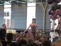 Défilé de robes en chocolat