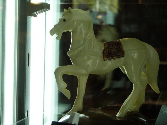 Cheval en chocolat