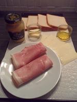 Ingrédients mini croque-monsieur