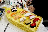Le plateau de sushis
