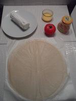 Ingrédients brick de chèvre, miel, tomate et piment d'Espelette