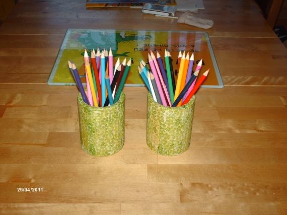 pots a crayon