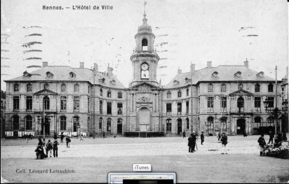 hotel de ville 1900