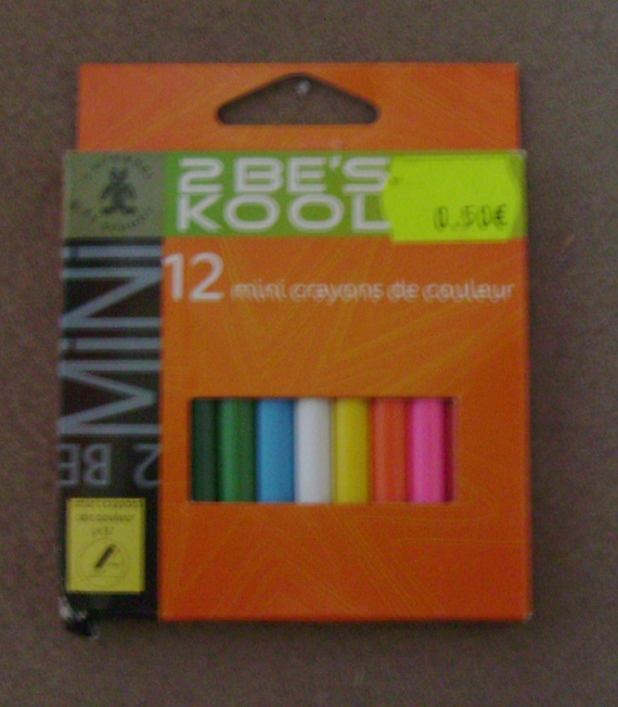 1 paquet de crayons