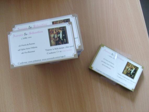 save the date à glisser (cartes et magnets)