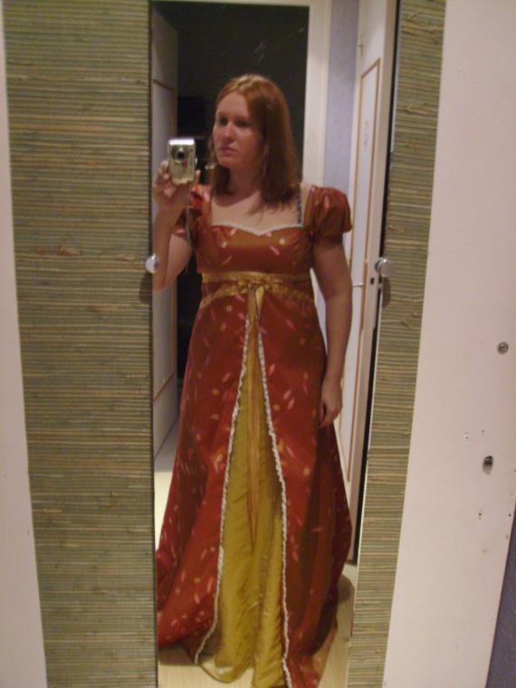 robe terminée!