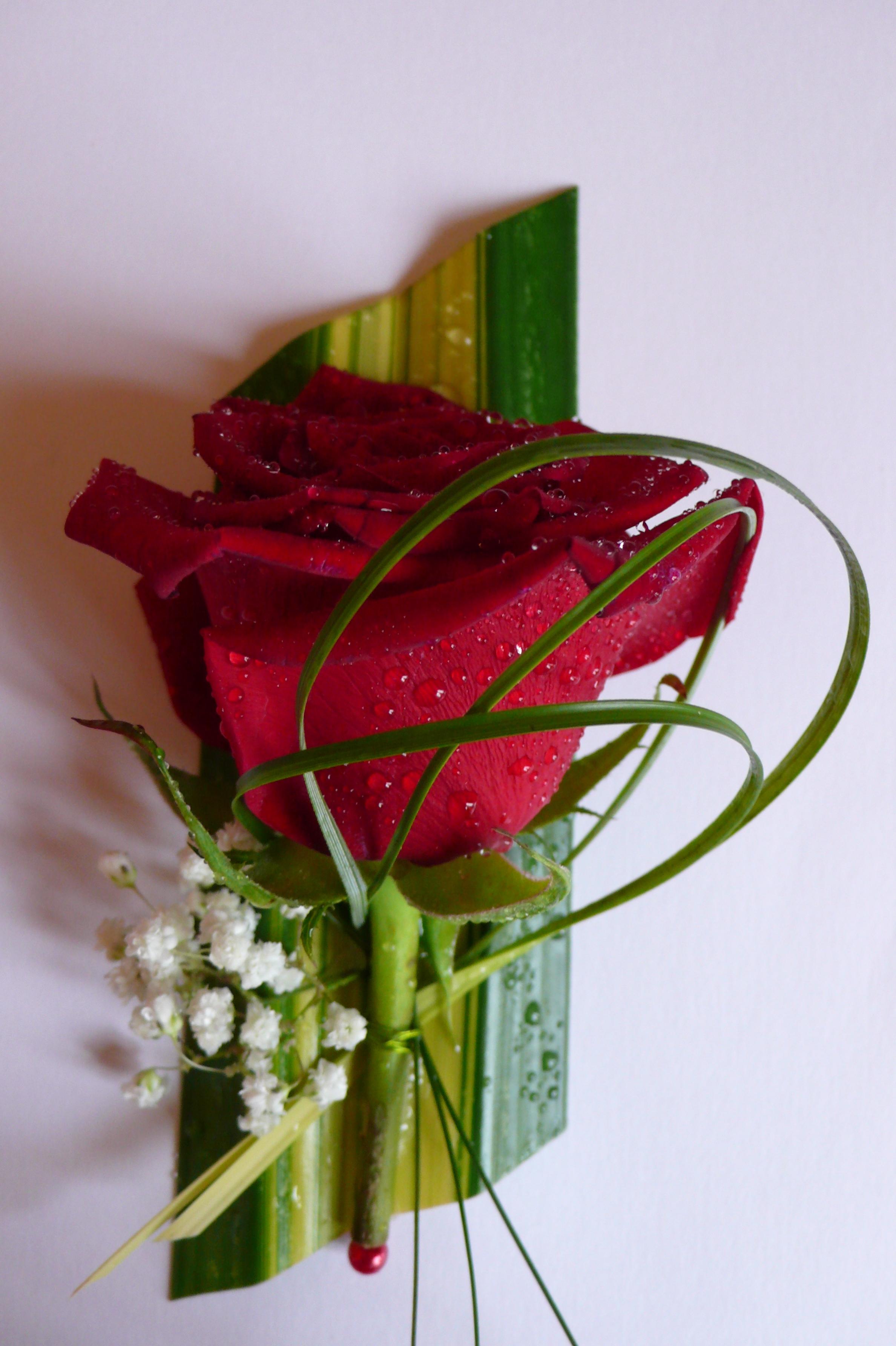 boutonni re mari fleurs mariage lasourisverte10. Black Bedroom Furniture Sets. Home Design Ideas