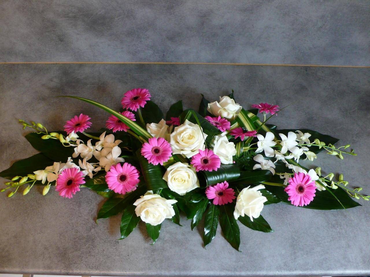 Bouquet de fleurs pour table mariage - Fleur mariage table ...