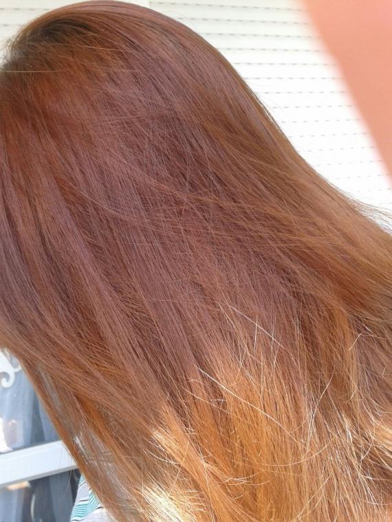 a cheveux mouills etape 2 aprs color out malilouch - Color Out Avant Apres