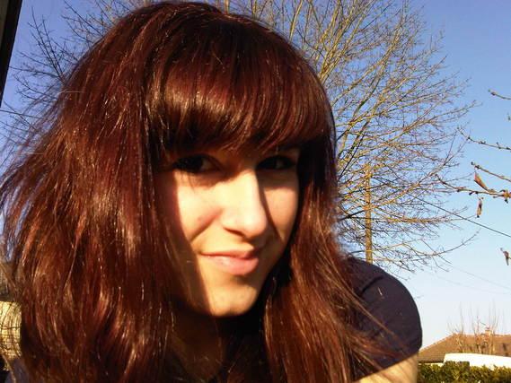 Coloration rat e rouge au blond avec les casting cr me gloss photo coiffure et coloration - Coloration auburn fonce ...