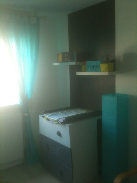 Chambre Turquoise. Cool Chambre Turquoise Et Blanche Indogate ...