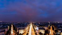Vue-depuis-lArc-de-Triomphe-