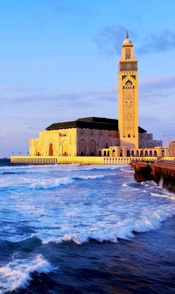 mosquée hassan ll