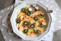 xSalade de fruits exotiques au coulis de mangue 1