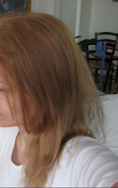 Coloration blonde qui vire au orange