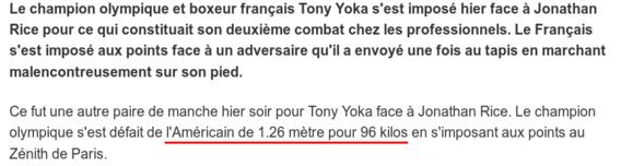 La victoire de Tony Yoka ne fait pas vibrer les foules