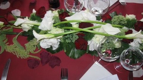 photos de vos centres de table fait par fleuriste prix. Black Bedroom Furniture Sets. Home Design Ideas