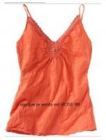 LR - tshirt avec macramé rose  50