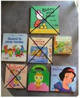 Livres cartonnés - 1er age