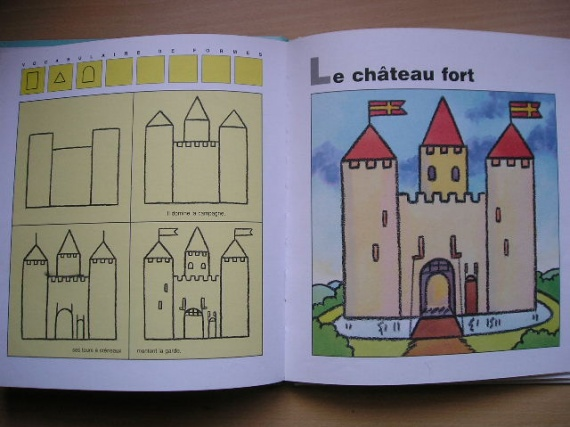 Int 3 j 39 apprends a dessiner photos a upload es jmflo74 photos club doctissimo - Dessiner un chateau fort ...