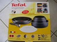 TEFAL - Set 10 pièces INGENIO