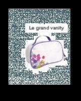 Vanity fleuri - NEUF