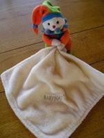 BABYNAT - arlequin & son mouchoir