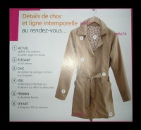 TRENCH taupe 38/40 Neuf