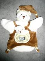 DOUDOU & Cie - marionnette ours & bébé