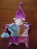 DOUDOU & CIE- marionnette chat