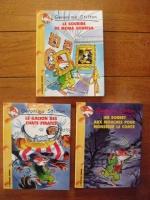 GERONIMO - 3 livres