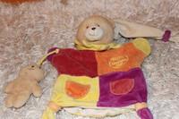Doudou & cie * ourson marionnette et bébé