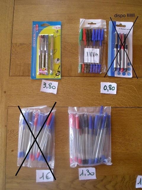 stylos billes