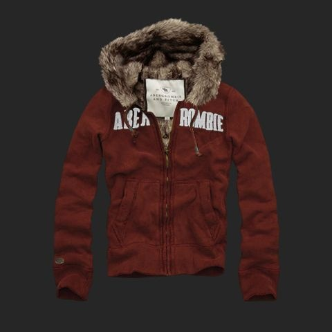 Abercrombie--Fitch-Sweat-a-capuche-fourrure-Homme-AF1227