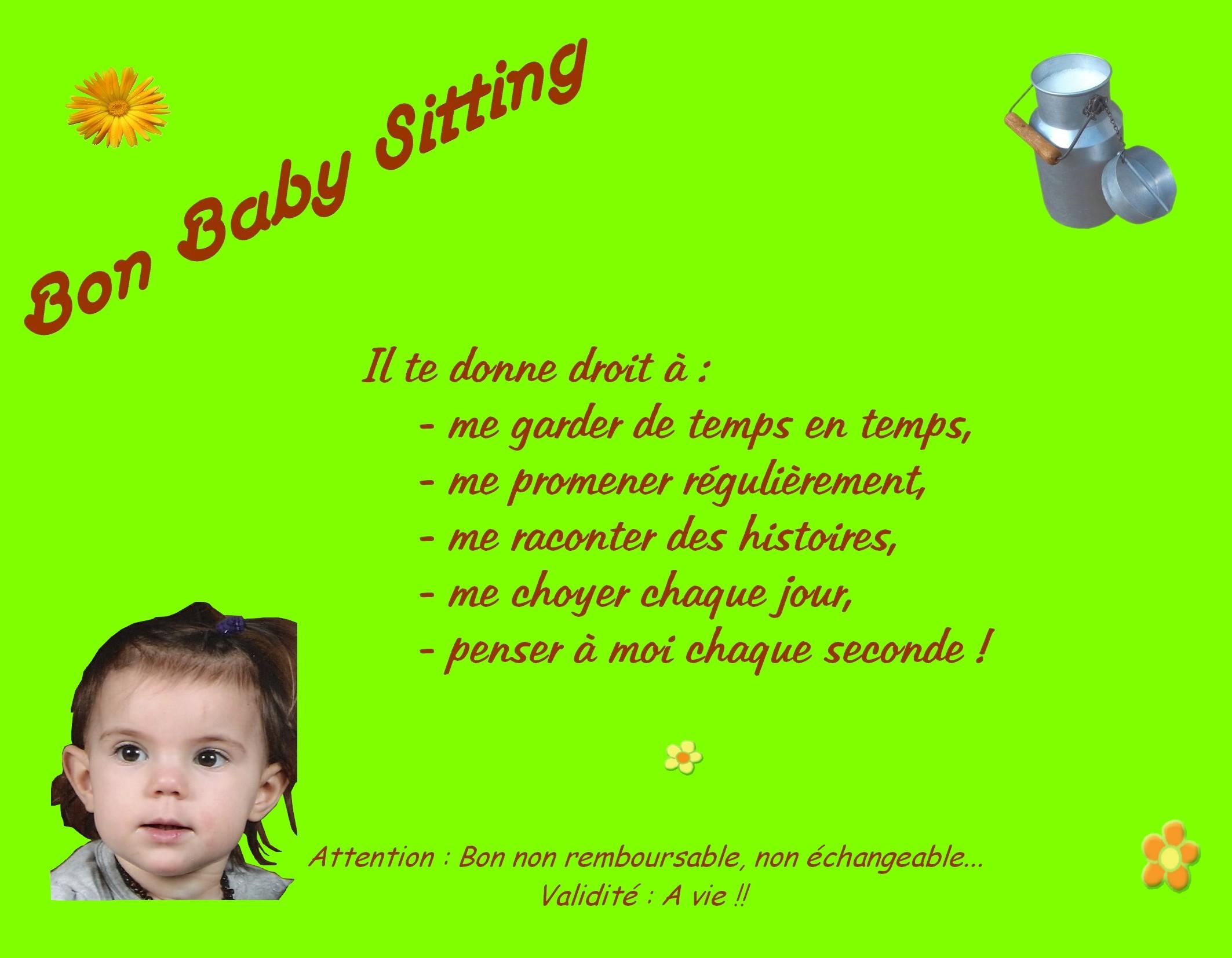 Diplome De Baby Sitter