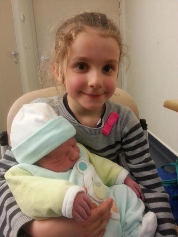 Loris et Elina maternité