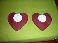 Deco De Salle - Guirlandes Coeur Rouge X 2 []
