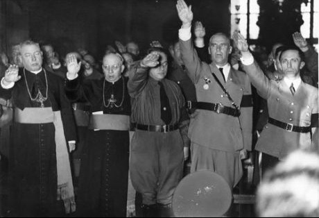 nazipriestssalutehitler