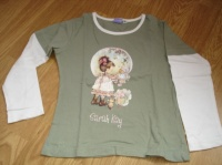 Sarah Kay : tee shirt manches longues effet double manches 3 €