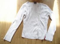 gilet blanc taille M 1.5€