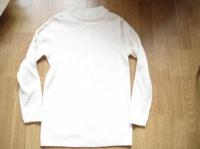 pull blanc 36/38 1 € (petite tache)
