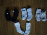 chaussettes bébé 3€ les 5 paires