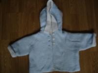 veste laine doublée 3/6 mois 4€