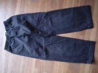 pantalon CYRILLUS marron taille élastique 4€